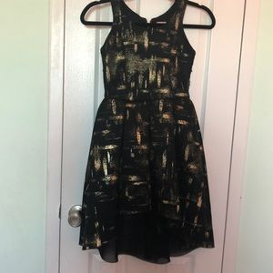 Beautiful black/gold dress